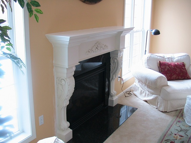 The fun part about a custom fireplace surround remodel job is that you get